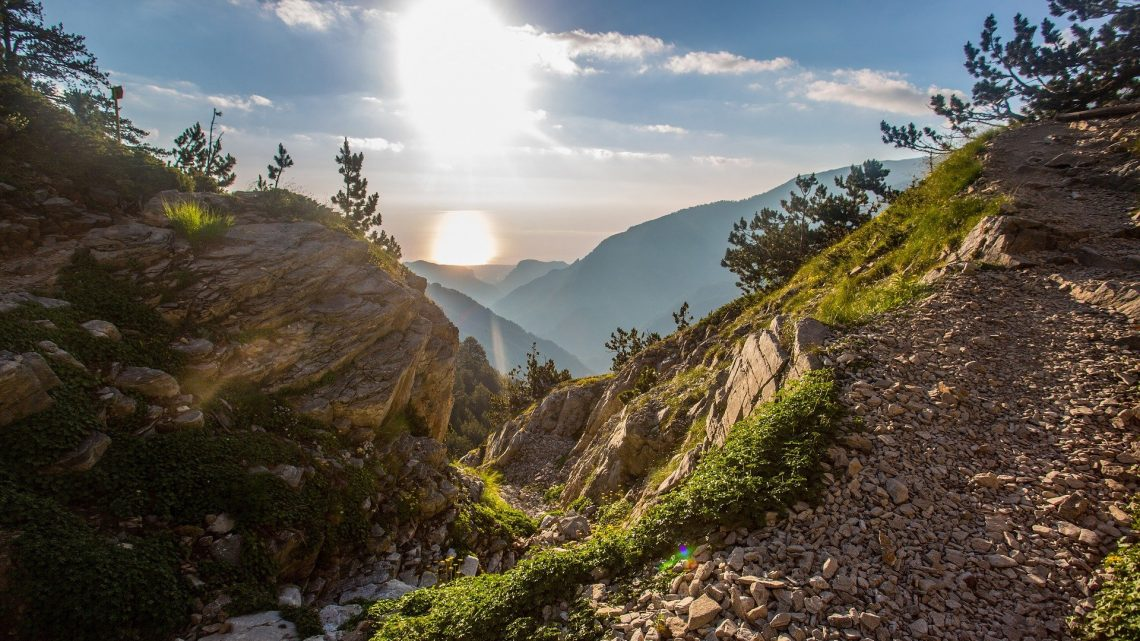 Nous avons couru ensemble avec The North Face à Zagori Mountain Running.